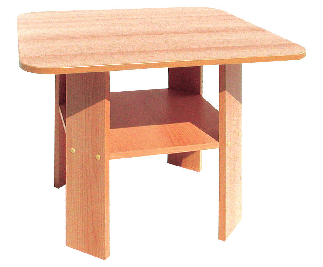 kita bonn einfacher tisch m ablage 60 x 52 x 60 cm kids und kita allyoureallyneed. Black Bedroom Furniture Sets. Home Design Ideas