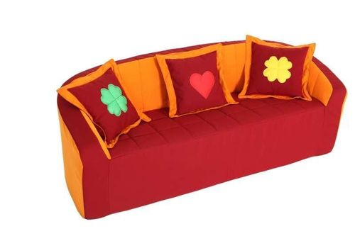 "Kita ""Berlin"" Sofa orange * PU-Schaum * Kindergarten"