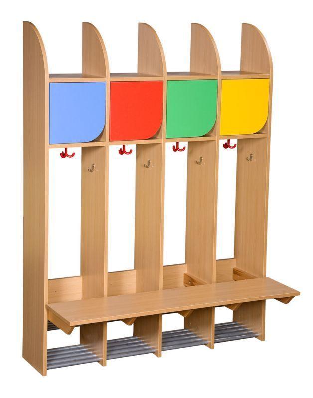 Kita berlin garderobe komplett 4 pl tze kindergarten for Garderobe kindergarten