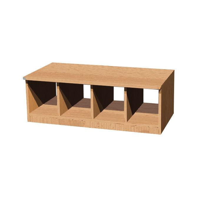 kita bonn garderobe sitzbank helena f r 2 6 kinder kids und kita allyoureallyneed. Black Bedroom Furniture Sets. Home Design Ideas