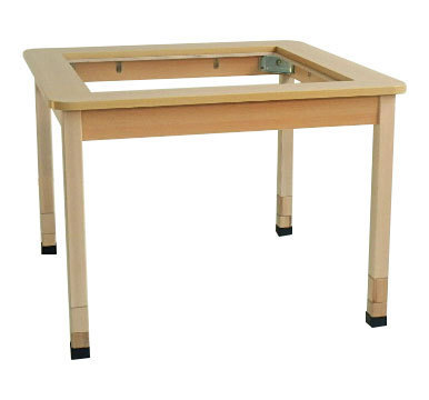 "KITA ""Bonn"" SMART TABLE -1-  80 x 46/52/58 x 80 cm"