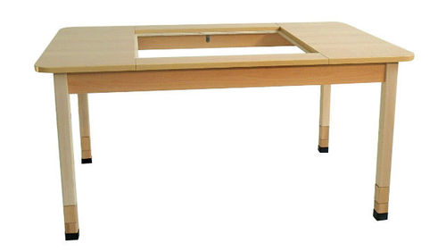 "KITA ""Bonn"" SMART TABLE -2-  120 x 46/52/58 x 80 cm"