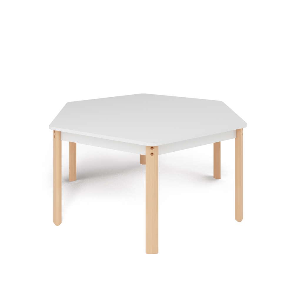 Kita Hamburg Tisch Stuhl Tisch Sechseck ø 143cm H40 71 Cm