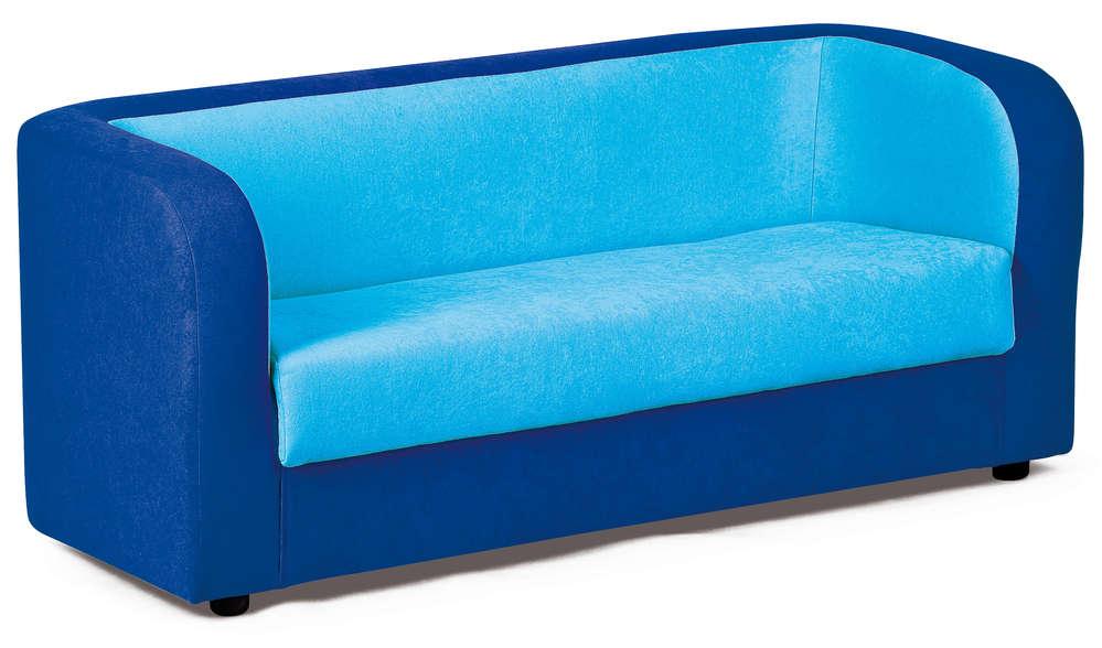 Kita Hamburg Pvcpu Möbel Blaue Couch 120 X 60 X 55 Cm Kids
