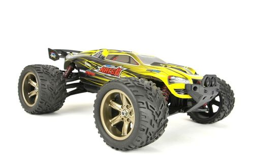"RC Truggy V2 ""Super Excited Racer"" 1:12, 2.4Ghz, 40+ km/h - Voll Proportional-gelb"