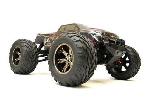 "RC Monster Truck ""Challenger Turbo"" 1:12, 2.4Ghz, 40+ km/h - Voll Proportional - rot"