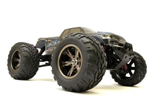 "RC Monster Truck ""Challenger Turbo"" 1:12, 2.4Ghz, 40+ km/h - Voll Proportional - blau"